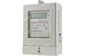 DDS228型单相电子式电能表 出租房用表 液晶1.0