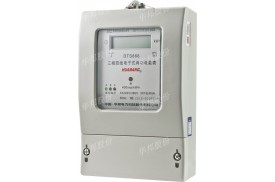 DTS866型 三相电子式有功电能表   液晶1.0